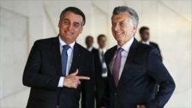 Bolsonaro: Sin Macri, no hay lugar para Argentina en el Mercosur
