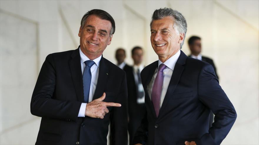 Bolsonaro: Sin Macri, no hay lugar para Argentina en el Mercosur | HISPANTV