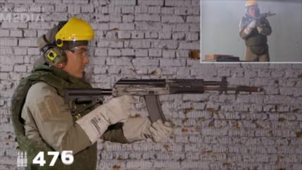 Vídeo: Kaláshnikov arde en llamas tras disparar 680 balas seguidas