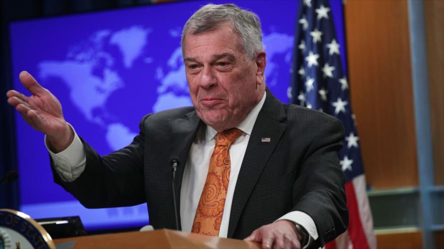 El subsecretario interino de EE.UU. para Asuntos del Hemisferio Occidental, Michael Kozak, en Washington, EE.UU., 13 de marzo de 2019. (Foto: AFP)