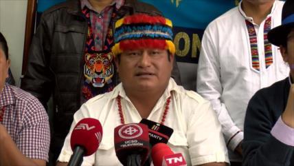 Movimiento indígena suspende diálogo con el Gobierno de Ecuador