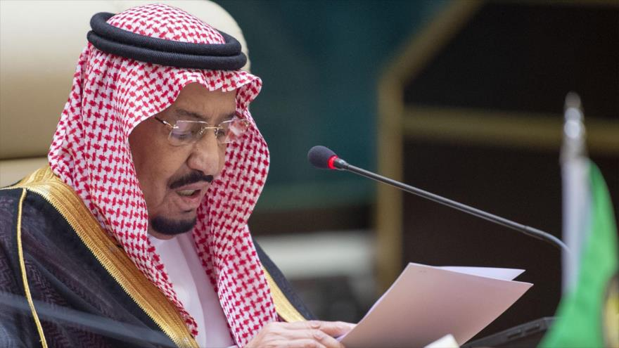 El rey saudí, Salman bin Abdulaziz, en un acto en la ciudad de La Meca, 31 de mayo de 2019. (Foto: AFP)