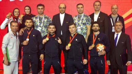 Irán se corona campeón mundial en modalidad sanda de Wushu