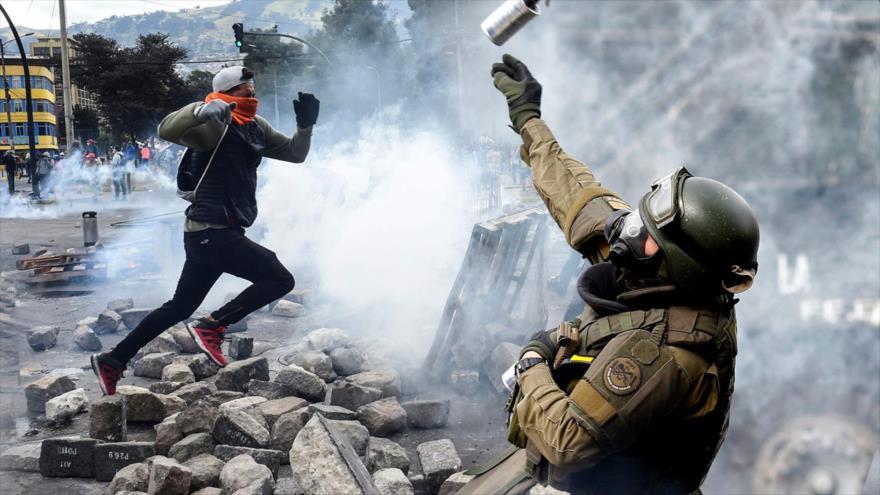 ¿En qué se parecen y diferencian las protestas en Chile y Ecuador?