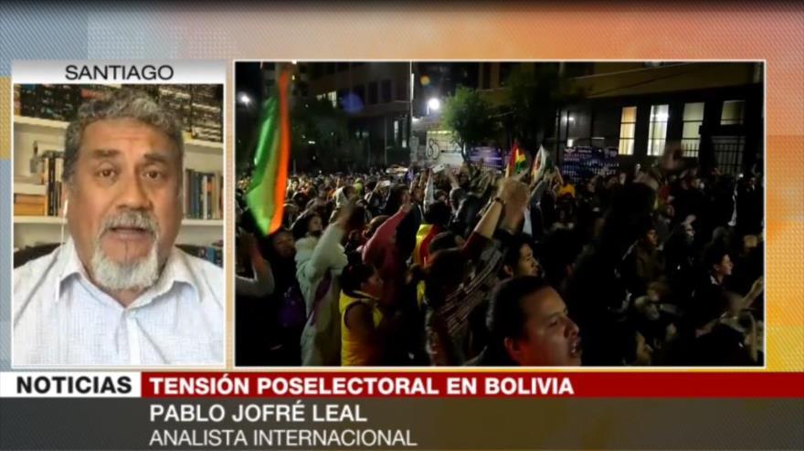 Leal: Triunfo de Morales desespera a la oposición boliviana