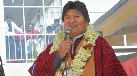 Tribunal Supremo Electoral de Bolivia da por reelecto a Evo Morales