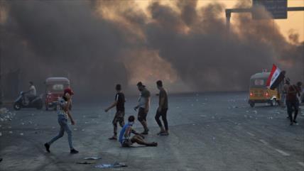Hezbolá iraquí a EEUU, Israel y Riad: estén fuera de protestas o…