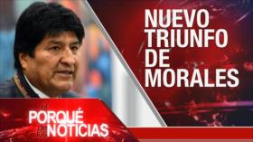 El Porqué de las Noticias: Siria como prioridad en agenda ONU. Evo Morales gana elecciones en Bolivia. Exhuman restos de Francisco Franco