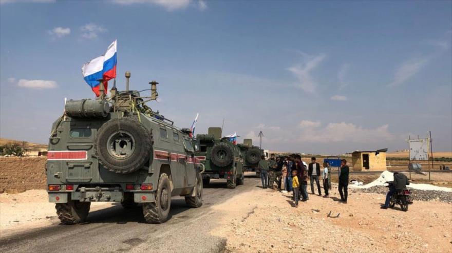 'Rusia despliega 300 militares en Siria para custodiar fronteras' | HISPANTV