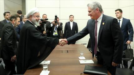 Rohani: EEUU no tiene otro remedio que sucumbir ante Irán y Cuba