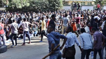 Mueren 67 personas en protestas de los últimos 3 días en Etiopía