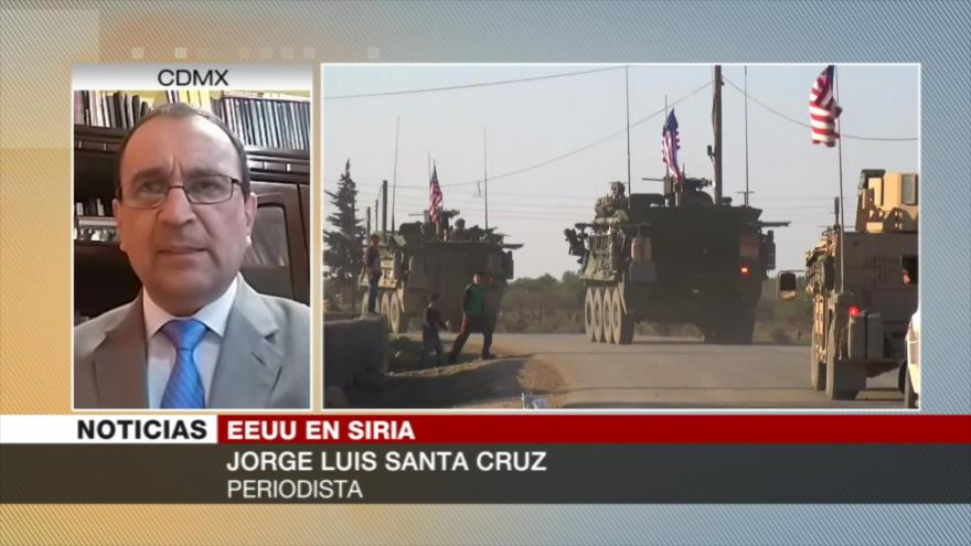 Santa Cruz: EEUU busca seguir enviando el petróleo sirio a Israel