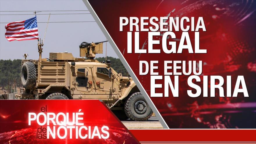El Porqué de las Noticias: MNOAL contra unilateralismo de EEUU. Protestas en El Líbano. EEUU mantiene tropas en Siria