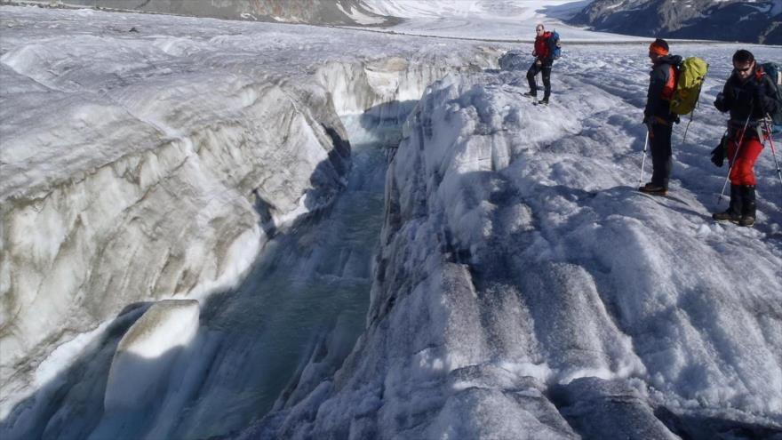 Descubren que los ríos glaciales absorben el carbono mucho más rápido que la selva de la Amazonía.