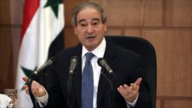 Siria acabará con el terrorismo y la invasión extranjera