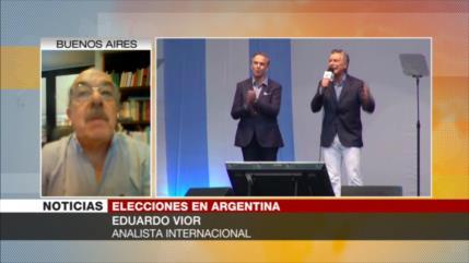 Vior: Desastre económico de Macri marca elecciones en Argentina