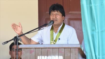Morales alerta de un golpe de Estado para esta semana en Bolivia