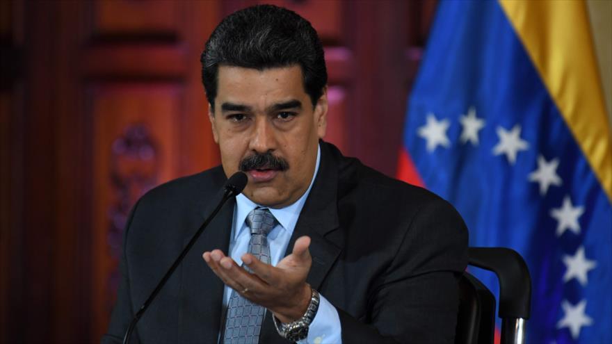 El presidente venezolano, Nicolás Maduro, en un acto en Caracas (capital), 30 de septiembre de 2019. (Foto: AFP)