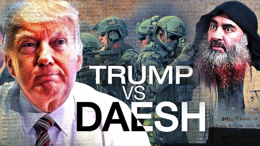 Detrás de la Razón: ¿Qué esconde Trump al anunciar la muerte del líder del grupo terrorista Daesh?