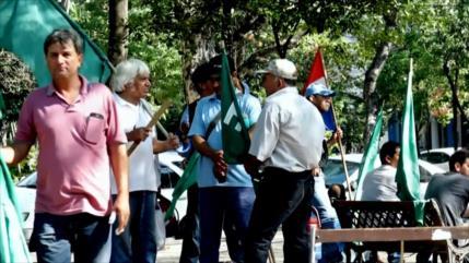 Campesinos paraguayos piden cese de desalojos violentos
