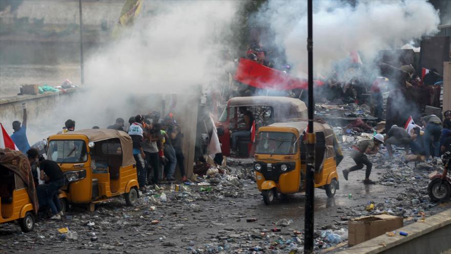 'EEUU e Israel, detrás de actos violentos en protestas de Irak' | HISPANTV