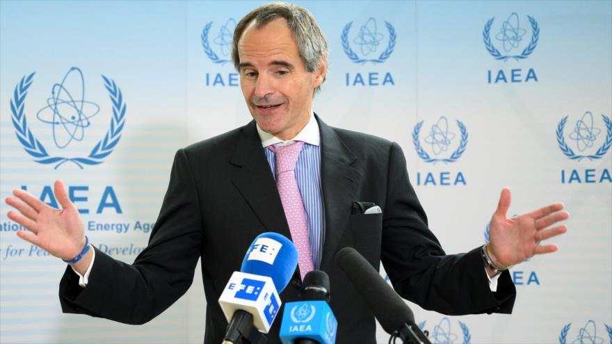 Rafael Grossi, nuevo director general de la Agencia Internacional de Energía Atómica (AIEA), 2 de octubre de 2019. (Foto: AFP)