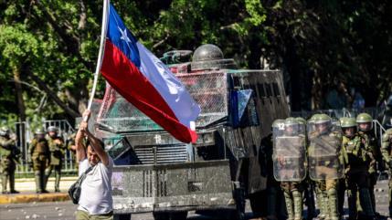 """Chile cerrará un año económico """"muy malo"""" debido a protestas"""