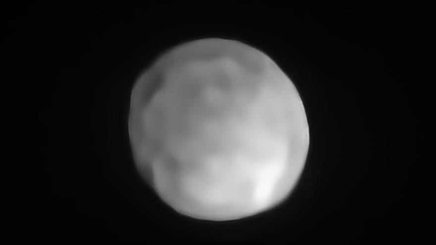 Imagen de Higía tomada por el instrumento Sphere (Observatorio Europeo Austral, ESO).