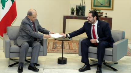 Presidente libanés descarta formación de un Gabinete provisional