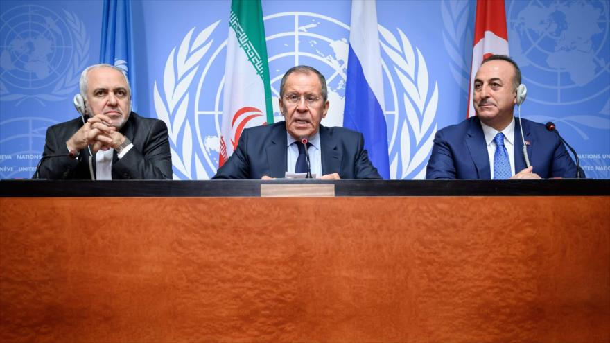 Irán, Rusia y Turquía rechazan toda vía militar para Siria   HISPANTV