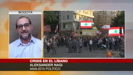Nagi: Crisis política en El Líbano es dirigida y apoyada por EEUU
