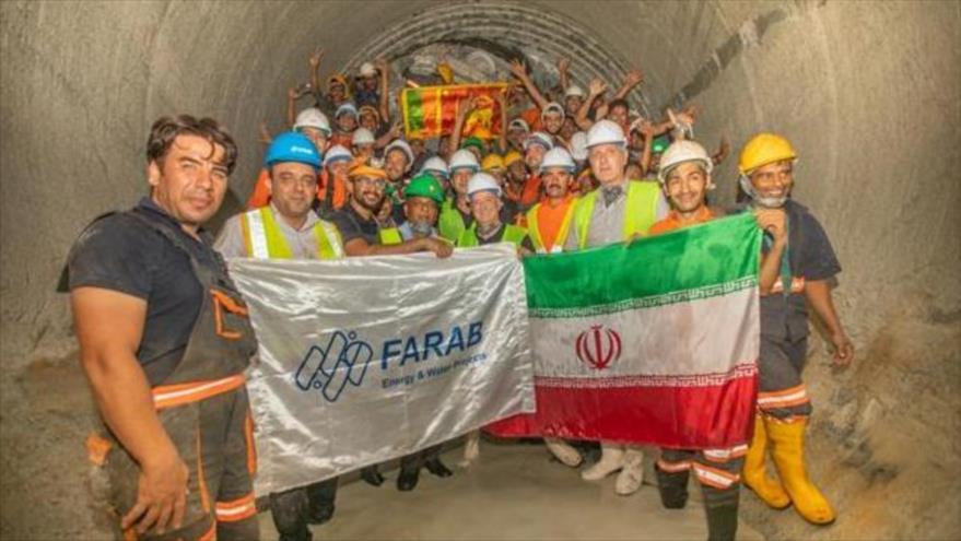 Inauguran un megaproyecto construido por Irán en Sri Lanka