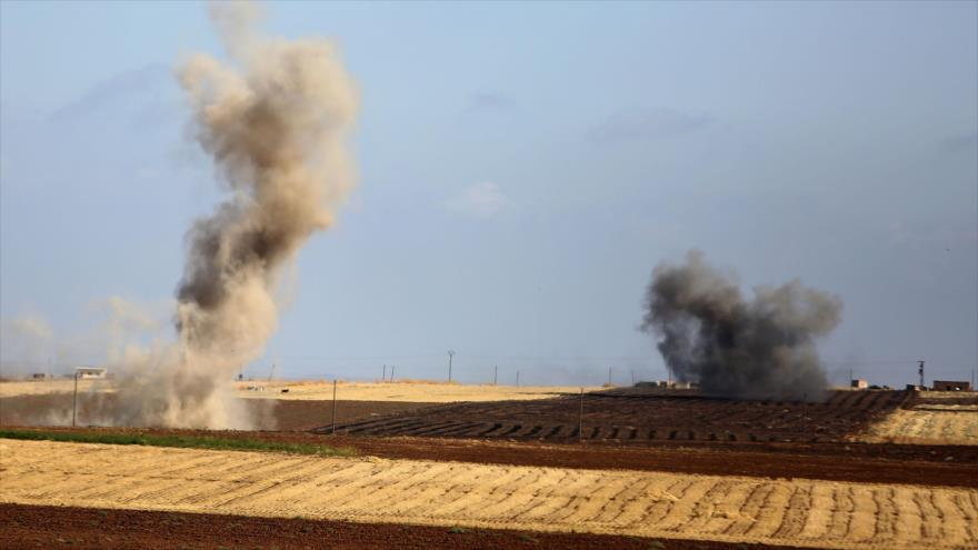 Registran fuertes choques entre el Ejército sirio y tropas turcas | HISPANTV
