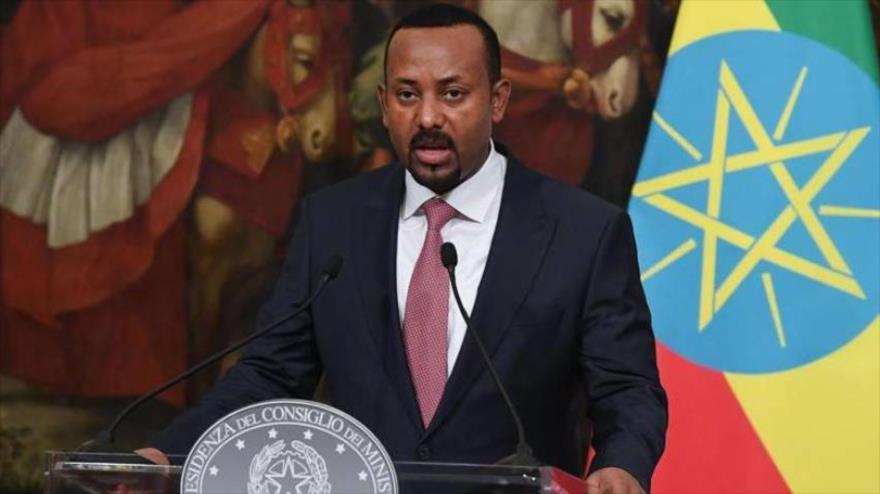 El primer ministro de Etiopía y también ganador del premio Nobel de la Paz en 2019, Abiy Ahmed.
