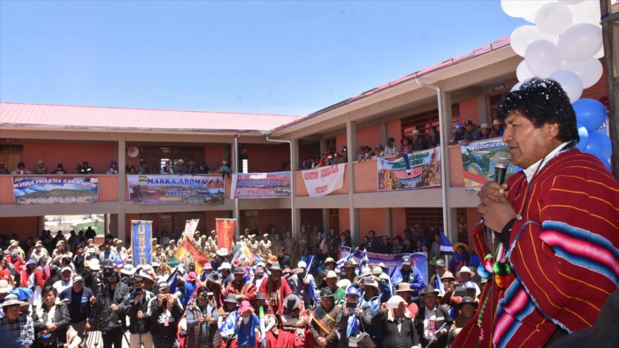 Evo Morales asegura que derrotará el golpe de Estado poselectoral | HISPANTV