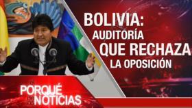 El Porqué de las Noticias: Discurso del Líder de Irán. Avanza impeachment a Trump. OEA audita votos en Bolivia