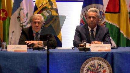 Luis Almagro llega a Ecuador para elogiar a Lenín Moreno