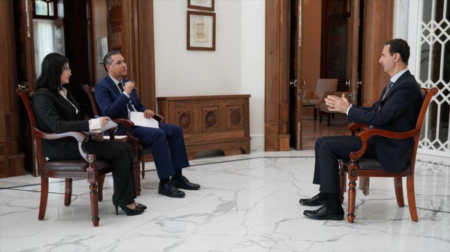 Al-Asad asegura que habrá guerra si Turquía no sale de Siria | HISPANTV