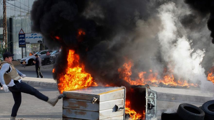 Hezbolá atribuye el caos en El Líbano a injerencias de EEUU | HISPANTV