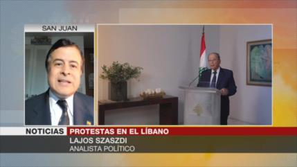 Szasdi: Hay elementos foráneos que desestabilizan El Líbano