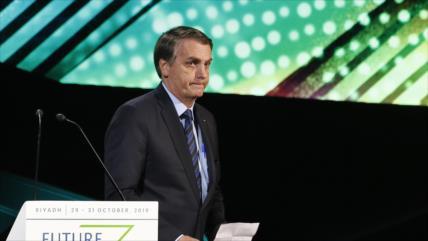 Uruguay convoca al embajador de Brasil por injerencia de Bolsonaro