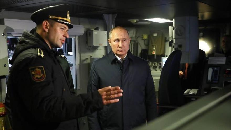 Putin: Corbeta multipropósito rusa recibirá misiles hipersónicos | HISPANTV