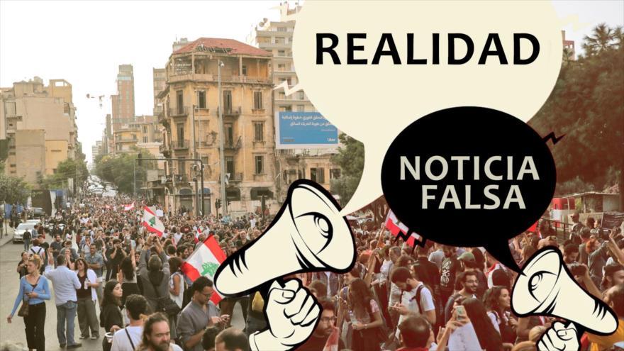 Vídeo: Noticias falsas, lado oscuro de las protestas en El Líbano | HISPANTV