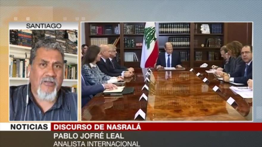 Jofré Leal: Vacío de poder en El Líbano favorece a enemigos | HISPANTV