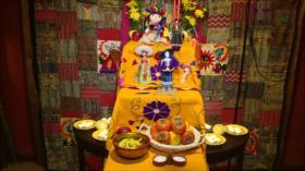 Museo de Muñecos de Irán celebra Día de Muertos de México