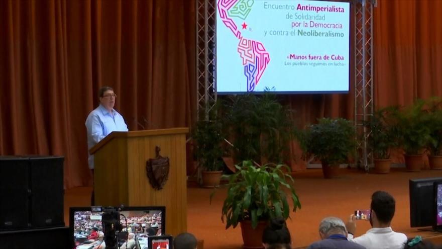 """Arranca en Cuba el """"Encuentro Antimperialista"""""""