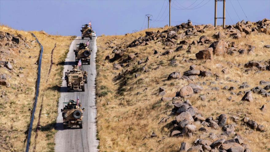 55 camiones militares de EEUU abandonan Siria ¡de vuelta a Irak! | HISPANTV