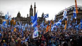 """La independencia de Escocia está """"al alcance de la mano"""""""