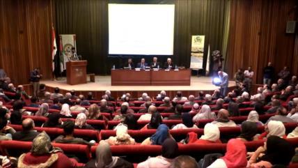 Siria acoge una conferencia sobre la Declaración de Balfour