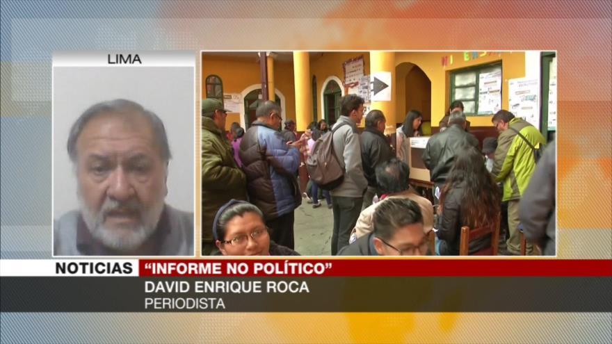 Roca: Aceptar auditoría de OEA es un acto inteligente de Morales | HISPANTV